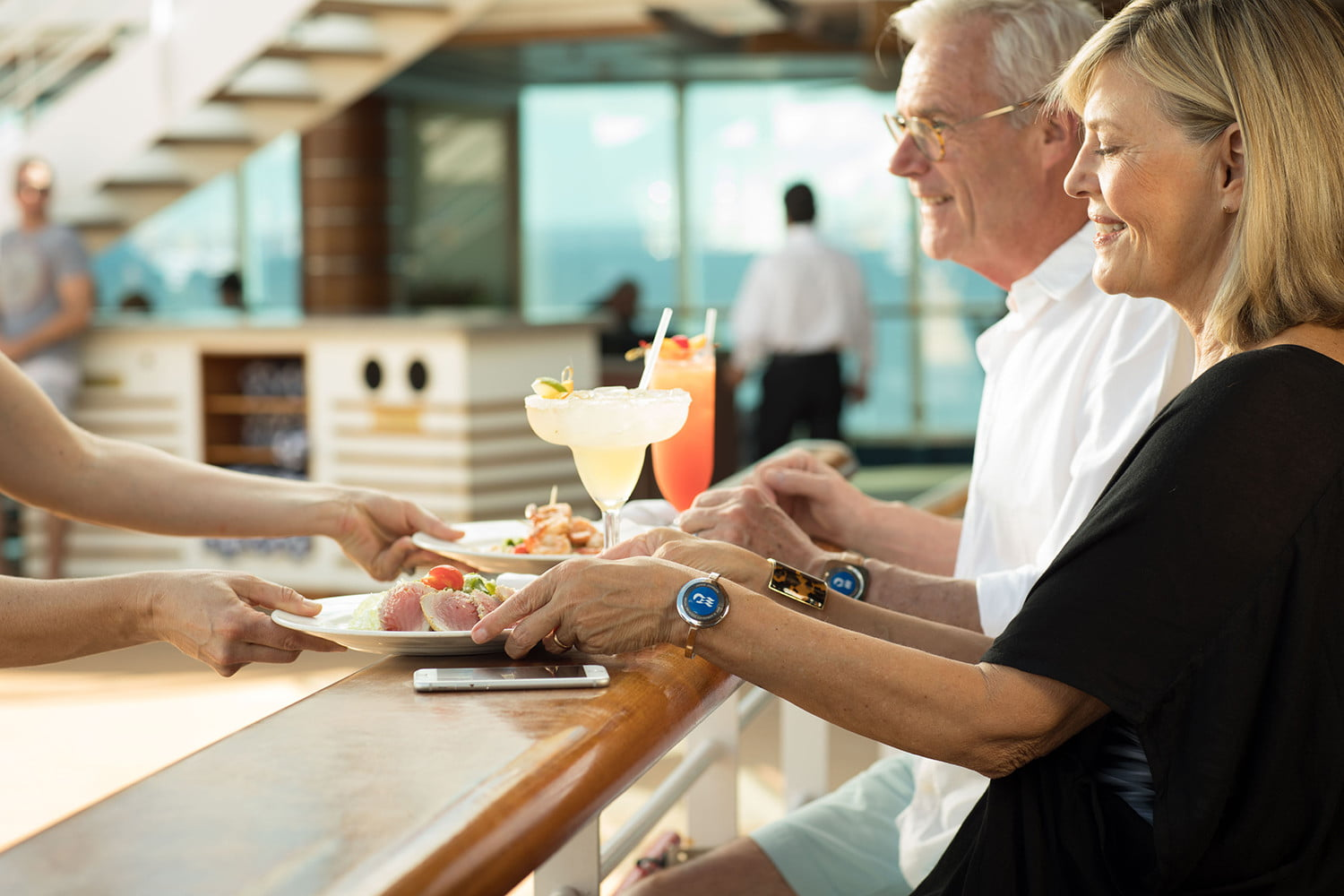 Cruise ships turn to wearable tech to create personalized