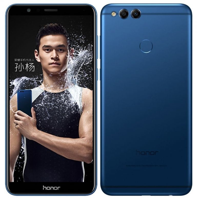 Honor 7X phone can be launched in December with Univism display and dual camera setup.{www.techxpertbangla.com}