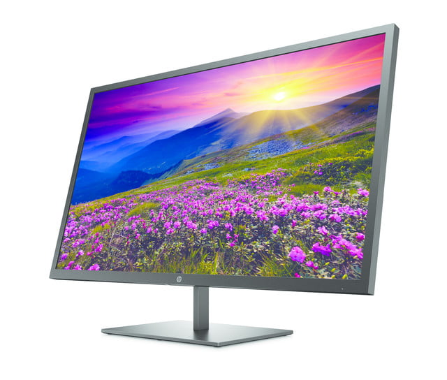 hp launches new monitors and all in one ces 2019 pavilion 32 qhd display  frontleft