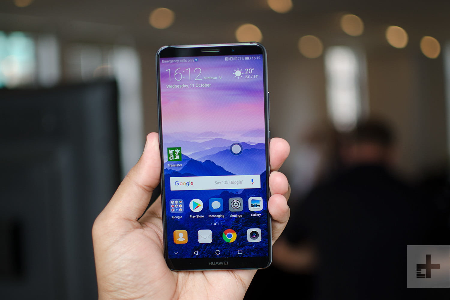 huawei mate 10 pro review digital trends. Black Bedroom Furniture Sets. Home Design Ideas