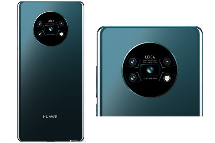For the Mate 30, Huawei may hop on board 2019's mad camera array design train