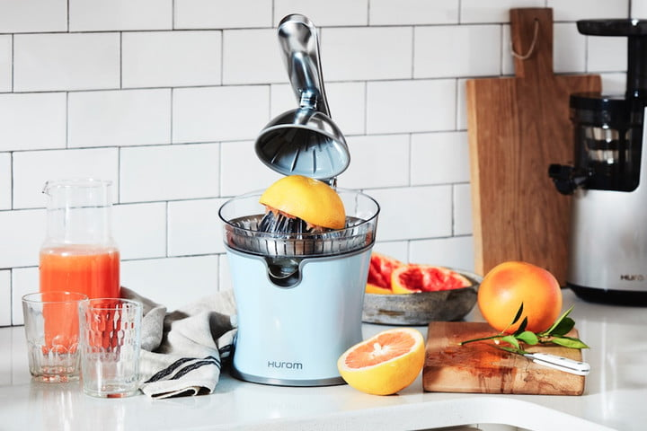 hurom debuts its new cj citrus juicer for your daily oj fix