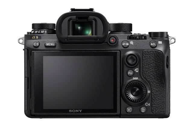 sony a9 full frame camera announced ilce 9 rear large