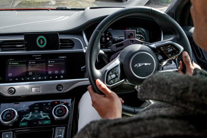 Jaguar Land Rover built an A.I.-equipped car that responds to the driver's mood