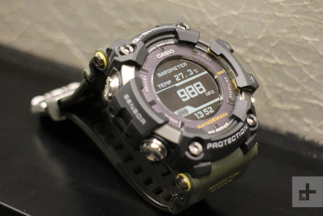Casio Gpr B1000 Rangeman Hands On Review Digital Trends