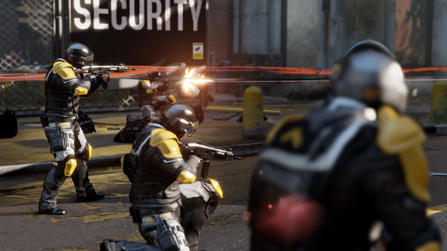 Infamous Second Son Soldiers Firing_1382631512