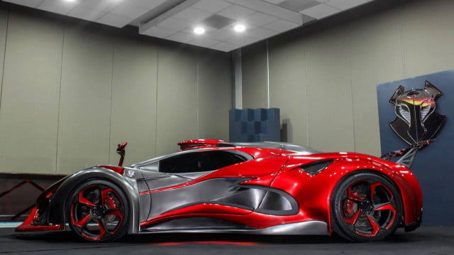 inferno exotic car 1400 horsepower metal foam pictures 007
