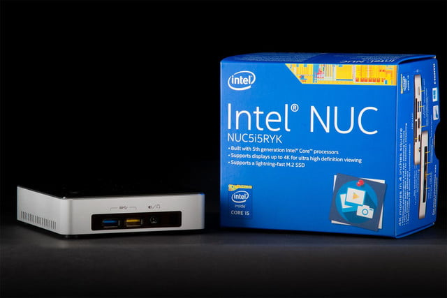 Intel NUC Core i5 NUCi5RYK mini PC review box