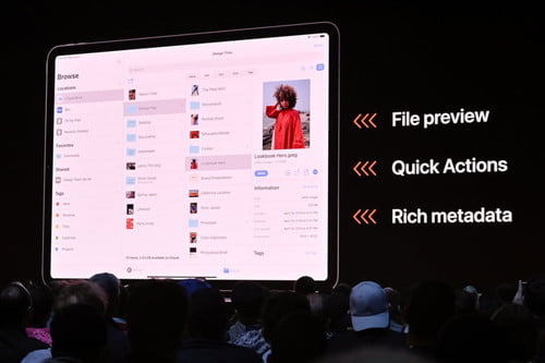 Apple's iPadOS Brings Better Multitasking and Files App to