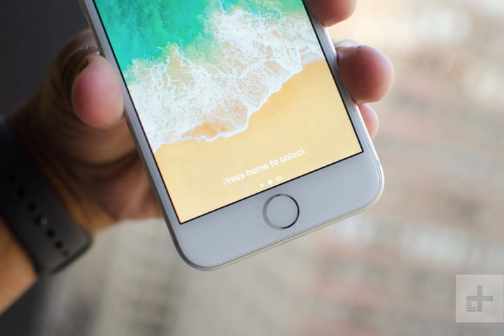 Apple iPhone 8 review home button