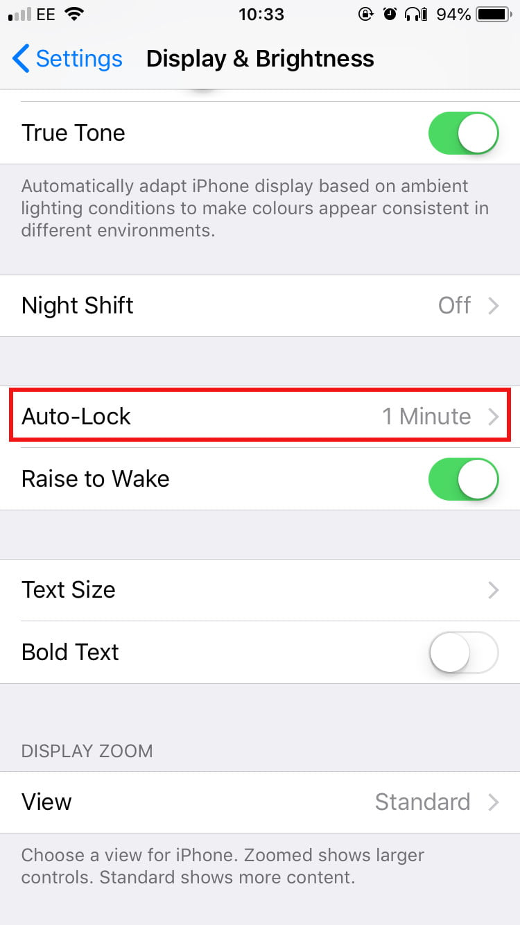 iphone auto lock key settings you need to change on your brand new iphone x 11612