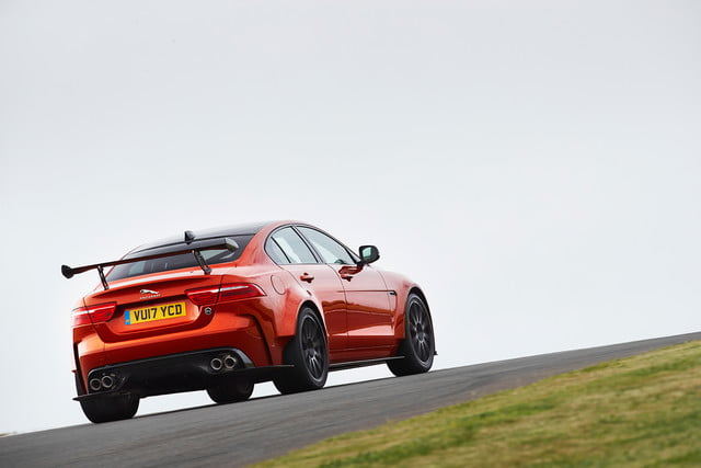 Jaguar-XE-SV-Project 8 rear side