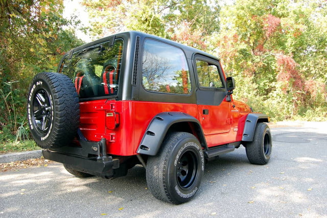 Jeep Wrangler with Supra power