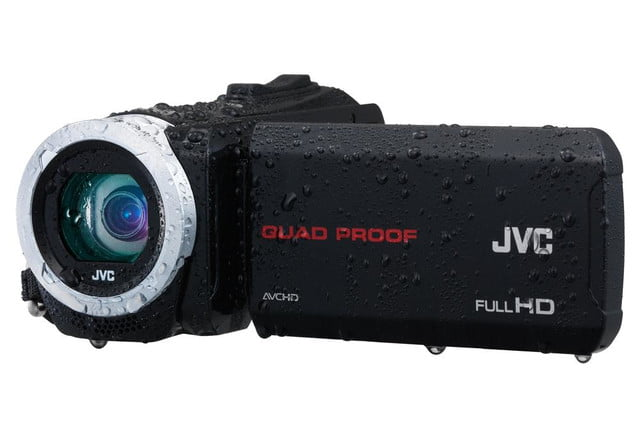 rugged pov cams go full size jvcs weather everio jvc gzr10 wet