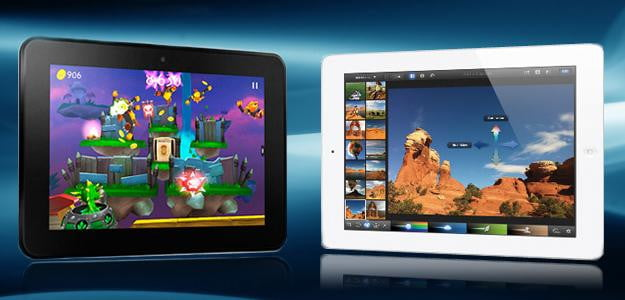 Apple Ipad Vs Kindle: Spec Showdown: Amazon Kindle Fire HD 8.9-inch Vs. Apple