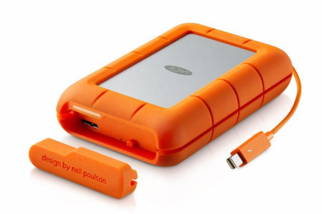 seagate goes on a hard drive announcement spree at ces lacie rugged raid
