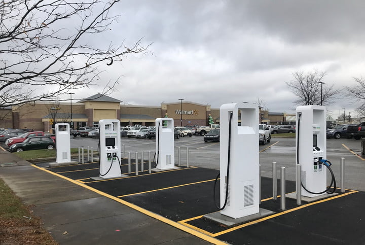 Electrify America car chargers at Walmarts aim to help the heartland go electric