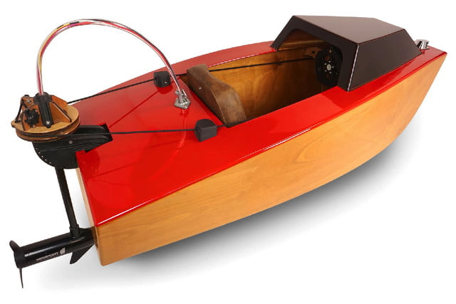 electric mini boat kit tulberg laser cut rear 3 4 rapid whale