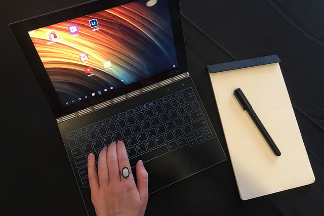 lenovo yoga book hands on handson 013