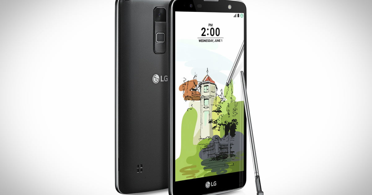 LG Introduces The Stylus 2 Plus