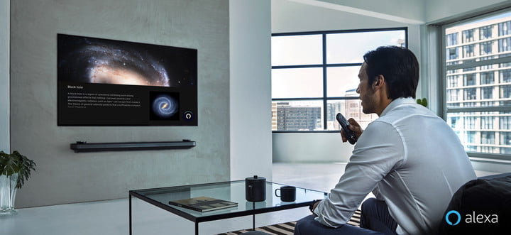 LG's 2019 TVs put Alexa side by side with Google Assistant, with Siri on the way