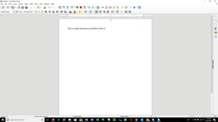 En iyi microsoft office alternatifleri libreoffice