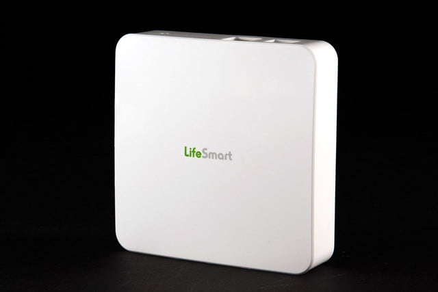 Lifesmart security system box front angle