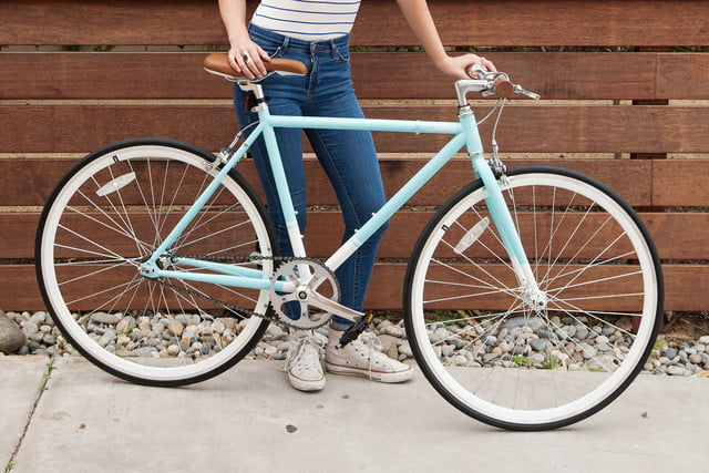 critical cycles harper coaster single speed light blue