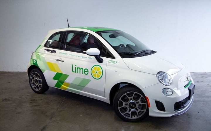 limes first carsharing service motors into seattle this week limepod