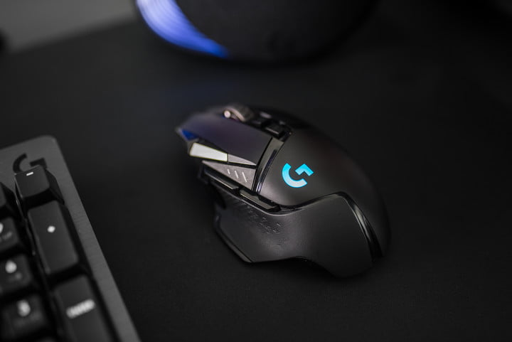Logitech's wireless G502 Lightspeed is faster than wired gaming mice