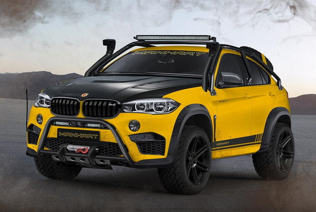 The $465,000 custom-made BMW X6 by Manhart