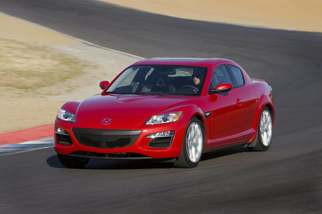 mazda rules out another rotary powered sports car 2010 rx 8
