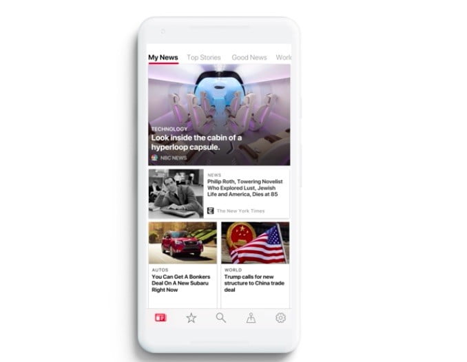 microsoft launches news for ios and android app 2