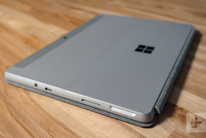 It's not the sharpest tool, but the Surface Go does it all