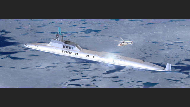 migaloo kokomo ailand is a moveable man made private island submersible superyacht 0020
