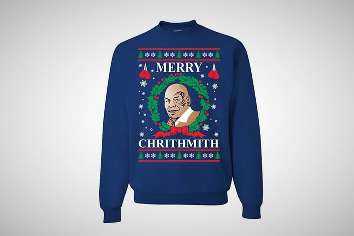 mike tyson ugly christmas sweater - Best Christmas Sweater