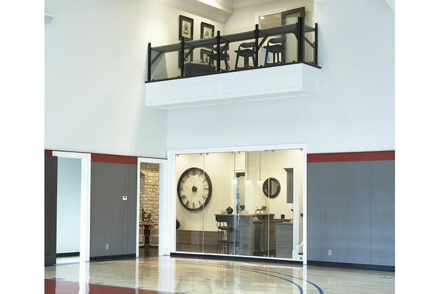 homes with indoor basketball courts milestone custom house court
