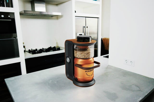 awesome tech you cant buy yet smart mug minibrew  small batch automated homebrewer
