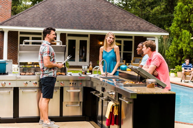 Char Broil Fires Up A New Modular Outdoor Grill Kitchen Lineup