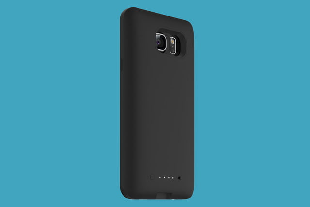 samsung galaxy note 5 mophie juice pack side angle