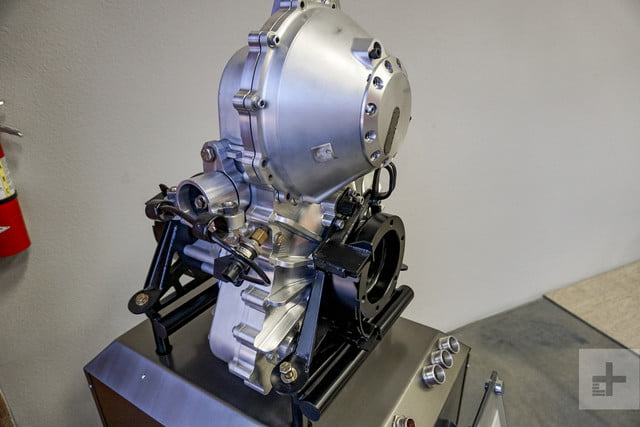 An engine designed by Motivo Engineering on display