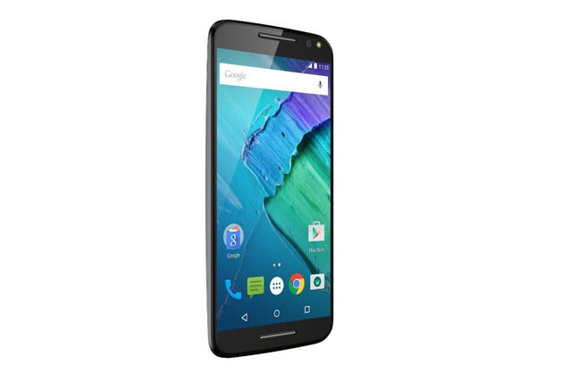 moto x 2015 news style pure edition black front