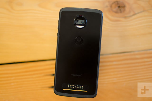Moto Z2 Force hands-on review black angle