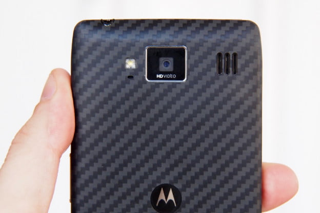 Motorola Droid Razr HD Review back camera android smartphone