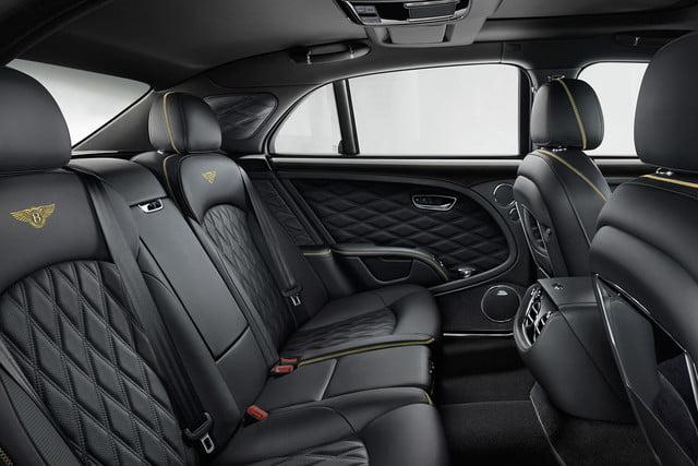 bentley engineering boss interview mulsanne speed rear cabin
