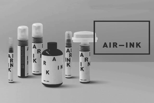 kickstarter ink air pollution multiple products 1