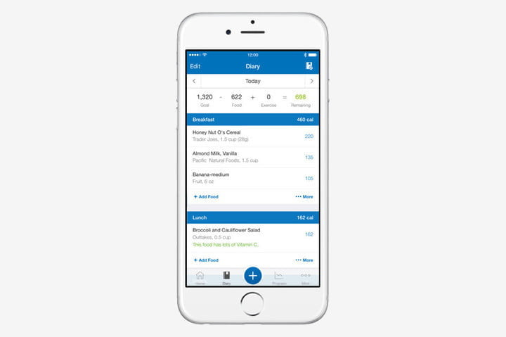 best health and fitness apps for iphone myfitnesspal
