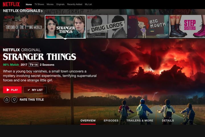 Netflix tips tricks rating