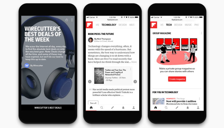 flipboard adds new tech features