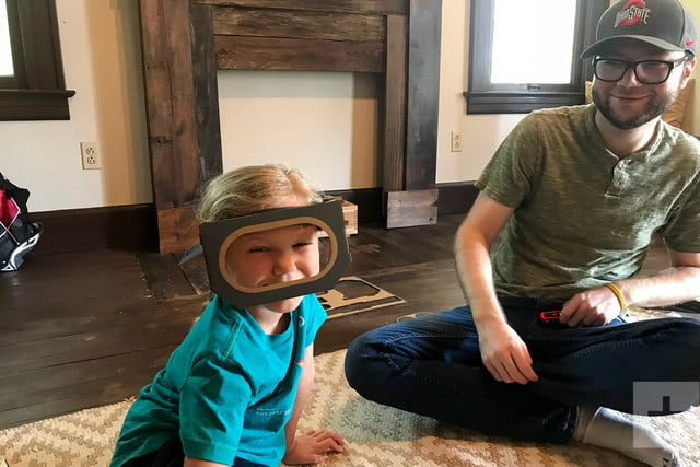 nintendo labo robot kit product experience review mask smile